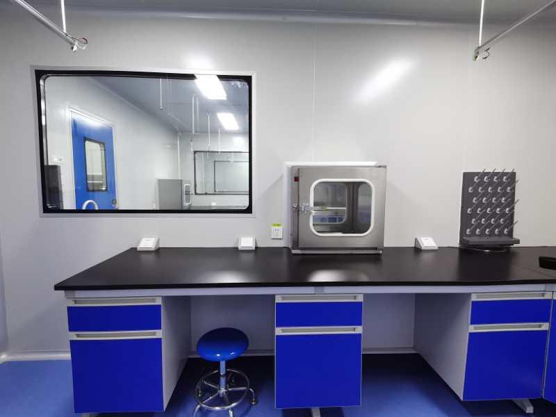 龙岩疾控的PCR实验室
